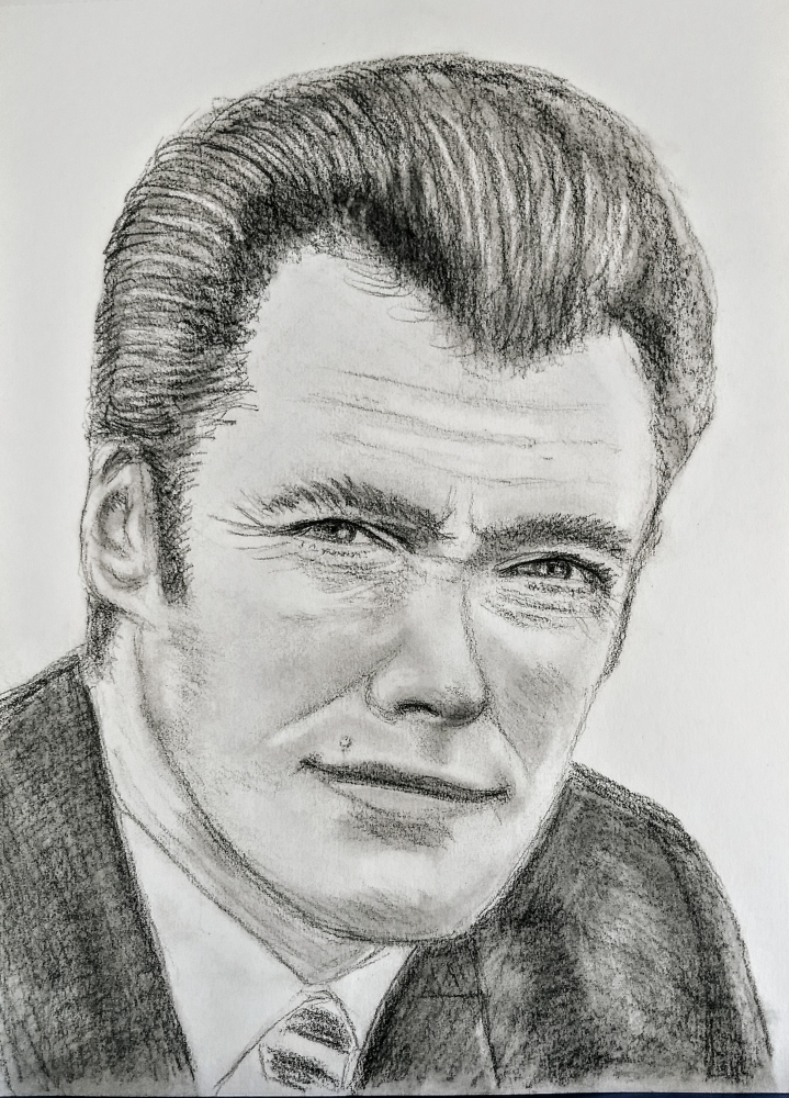 Clint Eastwood por paulb